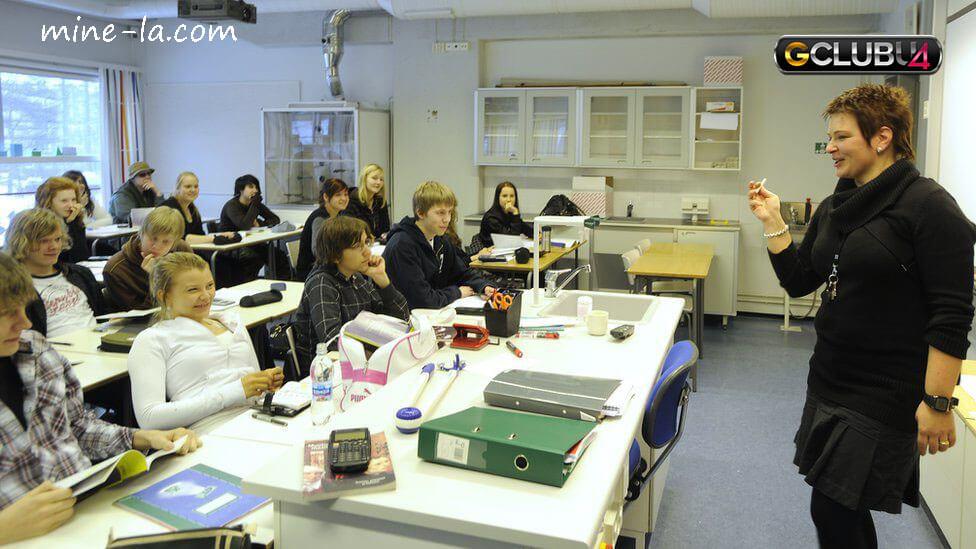 โรงเรียนฟินแลนด์ บรรยากาศการเรียนการสอน